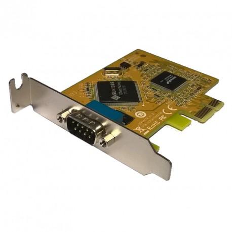Carte PCI-e 1 Port RS-232 Série Sunix SER5427A Low Profile DP-N D39K1
