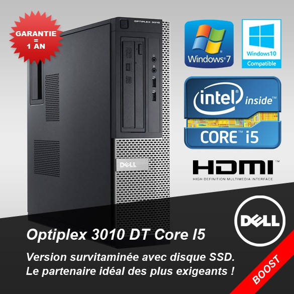 PC Dell Optiplex 3010 DT Core I5