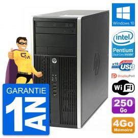 PC Tour HP Compaq Pro 6200 CMT Intel G630 RAM 4Go Disque 250Go Windows 10 Wifi