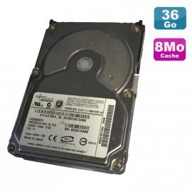"Disque Dur 36.7Go SCSI 80Pin 3.5"" Fujitsu A3C40049201 10000RPM 8Mo"