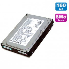 "Disque Dur 160Go SATA 3.5"" Seagate Barracuda ST3160023AS 7200RPM 8Mo"