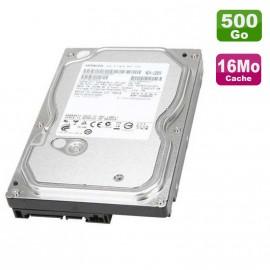 "Disque Dur 500Go Hitachi 3.5"" SATA Deskstar HDS721050CLA362 16Mo 7200RPM"