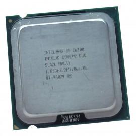 Processeur CPU Intel Core 2 Duo E6300 1.867Ghz 2Mo 1066Mhz LGA775 SLA2L Conroe
