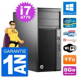 PC Tour HP WorkStation Z230 Intel i7-4770 RAM 8Go Disque 1To Windows 10 Wifi