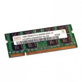 1Go RAM PC Portable SODIMM Hynix HYMP512S64EP8-Y5 AB PC2-5300U DDR2 667MHz CL5