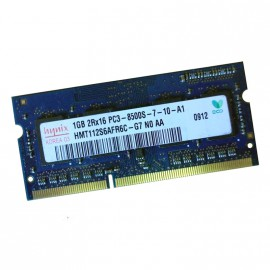 1Go RAM PC Portable SODIMM Hynix HMT112S6AFR6C-G7 PC3-8500U DDR3 1066MHz CL7