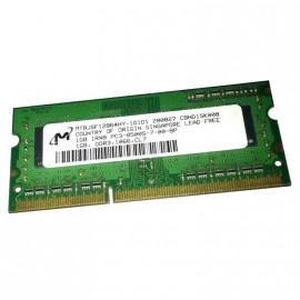 1Go RAM PC Portable SODIMM Micron MT8JSF12864HY-1G1D1 PC3-8500U DDR3 1066MHz CL7