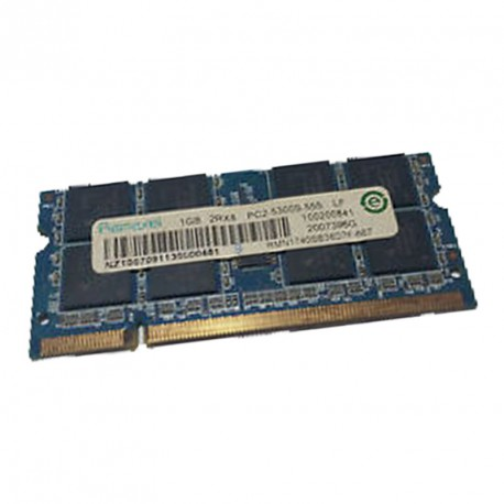 1Go RAM PC Portable RAMAXEL RMN1740SB38D7F PC2-5300U SODIMM DDR2 667MHz CL5