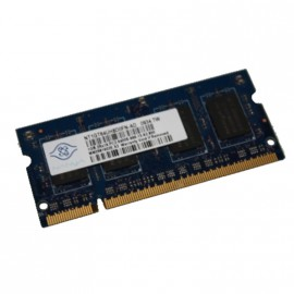 1Go RAM PC Portable NANYA NT1GT64UH8D0FN-AD PC2-6400U SODIMM DDR2 800MHz CL6