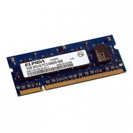 1Go RAM PC Portable ELPIDA EBE11UE6AESA-8G-F PC2-6400U SODIMM DDR2 800MHz CL6