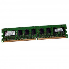 2Go RAM Serveur Kingston KVR800D2E6K2/2G DDR2 PC2-6400E ECC 800Mhz DIMM 1.8v