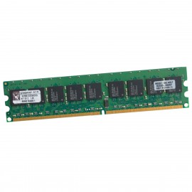 1Go RAM Serveur Kingston KVR667D2E5K2/1G DIMM PC2-5300E ECC 240-Pin 667Mhz