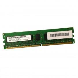 2Go RAM Serveur Micron MT18HTF25672AZ-80EH1 DDR2 PC2-6400E ECC 800Mhz 2Rx8 1.8v