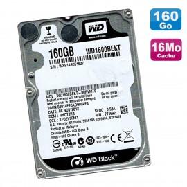 "Disque Dur 160Go SATA 2.5"" WD Scorpio Black WD1600BEKT-00PVMT0 7200RPM 16Mo"