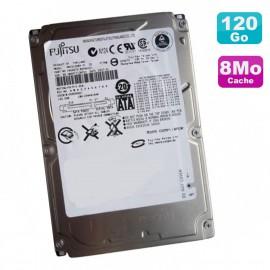"""Disque Dur 120Go SATA 2.5"""" Fujitsu MHV2120BH 5400RPM 8Mo"""