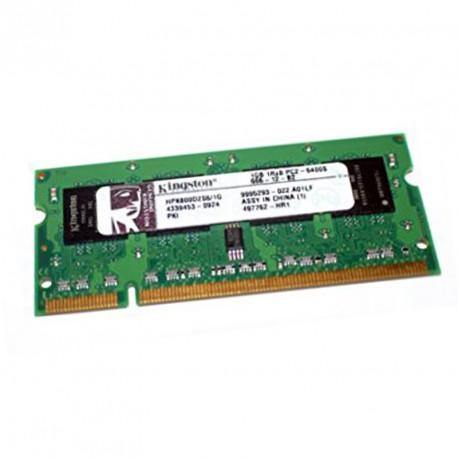 1Go RAM PC Portable KINGSTON HPK800D2S6-1G PC2-6400U 200PIN DDR2 800MHz 1Rx8 CL6