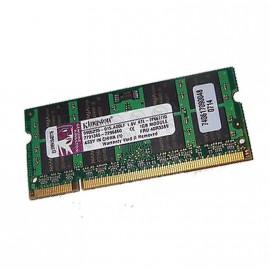 1Go RAM PC Portable KINGSTON KTL-TP667-1G PC2-5300U 200-PIN DDR2 667MHz CL5