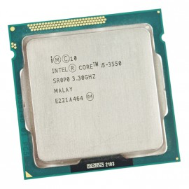Processeur CPU Intel Core I5-3550 3.3Ghz 6Mo 5GT/s FCLGA1155 SR0P0