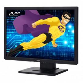 """Ecran PC Pro 22"""" FUJITSU E22W-5 LCD LCD TFT VGA DVI Jack Stereo VESA Widescreen"""