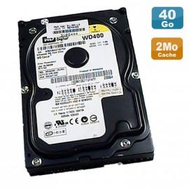 "Disque Dur 40Go IDE 3,5"" ATA Western Digital WD400BB-23JHC0 Caviar 7200 RPM"