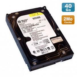 """Disque Dur 40Go IDE 3,5"""" ATA Western Digital WD400BB-22HEA0 Caviar 7200 RPM 2Mo"""