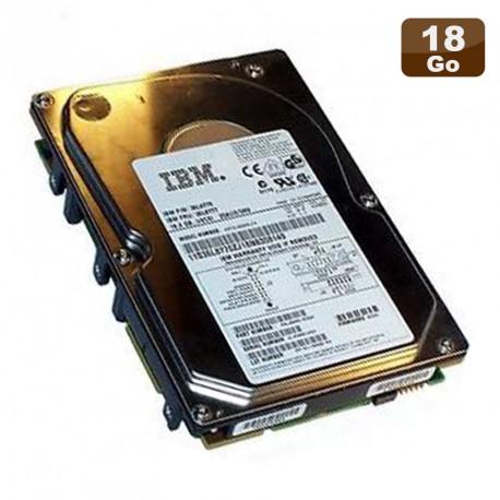 """Disque Dur 18.2Go USCSI Ultra SCSI 3.5"""" IBM 36L8776 FRU 36L8777 10000RPM"""
