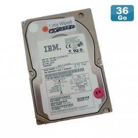 "Disque Dur 36.4Go USCSI Ultra SCSI 3.5"" IBM 19K1468 FRU 19K1469 10000RPM"