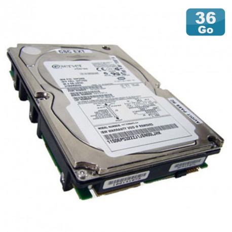"""Disque Dur 36.4Go USCSI Ultra SCSI 3.5"""" IBM Eserver 06P5322 FRU 06P5323 10000RPM"""