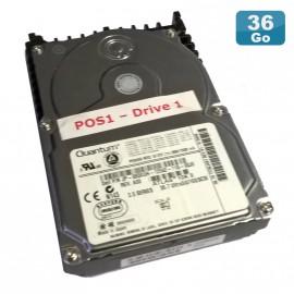 "Disque Dur 36.4Go USCSI Ultra SCSI 3.5"" QUANTUM JP-080XUH TY36J461 10000RPM"