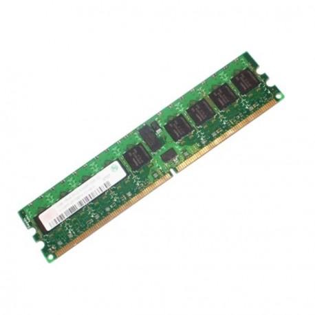 Ram ELPIDA 1Go DDR2-667 PC2-5300P ECC Reg EBE10AE8ACFA-6E-E Mémoire Serveur