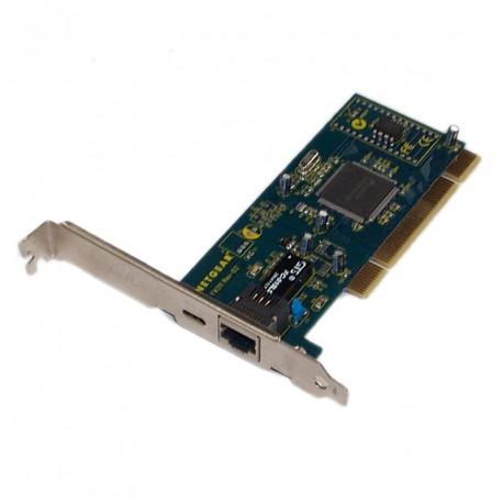 Carte Réseau Netgear FA311 Rev-D2 10-100Mbps PCI 1x Port Ethernet NIC