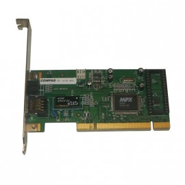 Carte Réseau COMPAQ 243127-408 Rev.01 ETHERLINK 10/100Mbps Ethernet PCI 1x RJ45