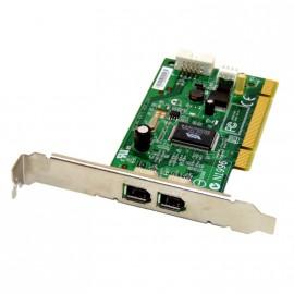 Carte PCI 2x Port Firewire MSI MS-6971 IEEE1394 caméscope montage vidéo Hot-Plug