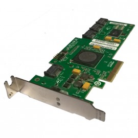 Carte PCI-Express SAS LSI Logic SAS3041E 3x Ports SATA L3-01101-04F Low Profile