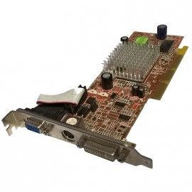 Carte Graphique ASUS Radeon 9200SE Triplex 128Mo SDRAM DDR AGP VGA DVI S-Video