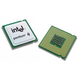 Processeur CPU Intel Pentium 4 HT 521 2.8GHz 1Mo 800Mhz Socket LGA775 SL9CG Pc