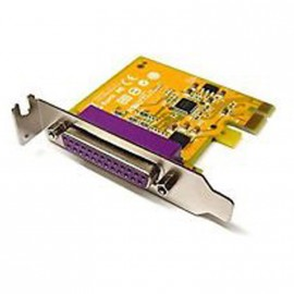 Carte SUNIX Port Parallele IEEE1284 LPT DB-25 PCI-E Low Profile PAR6408A 0VG832