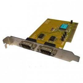 Carte PCI 2 Ports RS-232 Série DB9 Sunix 4036a Sun PC