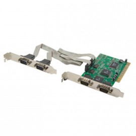 Carte PCI Multi 4 Ports Séries RS-232 NETMOS SD-PCI9845-4S