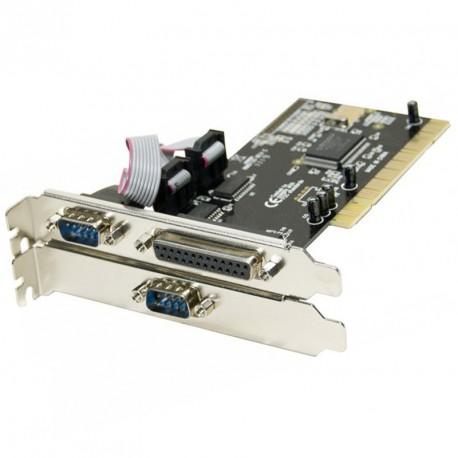 Carte PCI 2 Ports Serie RS-232 1 Parallele EPP-EPC MOSCHIP FG-PIO9835 NM9735
