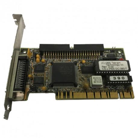 Carte contrôleur SCSI TEKRAM DC-390/T B:KHADC390 PCI IDC 50-PIN