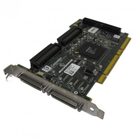 Carte contrôleur SCSI Adaptec Dell ASC-39160/Dell3 Ultra PCI-e UP601 IDC 50-PIN