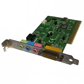Carte Son TERRATEC Promedia TTS0L01-SL VER1.2 PCI Audio Microphone Gameport MIDI