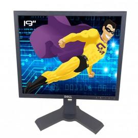 """Ecran Plat PC 19"""" DELL 1908FPf LCD 1280x1024 5:4 VGA DVI Hub 4xUSB-A 1xUSB-B"""