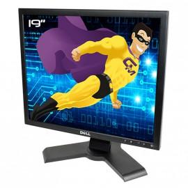 """Ecran Plat PC 19"""" DELL P190St LCD 1280x1024 5:4 VGA DVI Hub 4xUSB-A 1xUSB-B"""