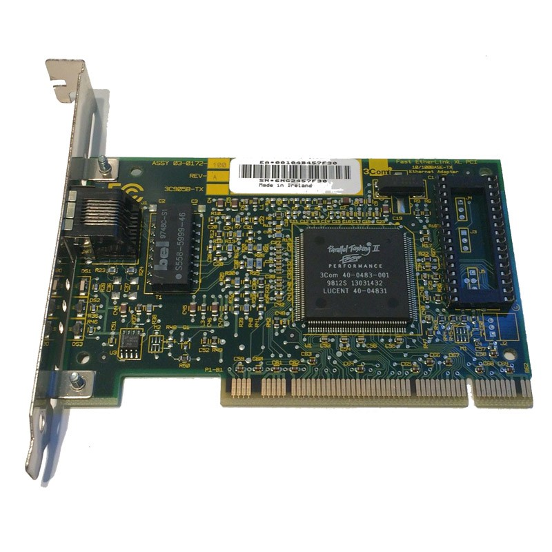 ETHERLINK XL 10100 PCI DRIVERS WINDOWS XP