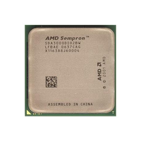 Processeur CPU AMD Sempron 3000+ 1.8GHz 128Ko SDA3000DI02BW Socket PGA939 Pc