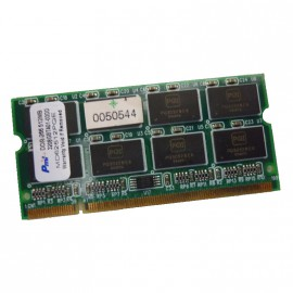 512Mo RAM PC Portable Pmi MD62512PQE SODIMM 200-PIN DDR1 PC2-2100S 266MHz