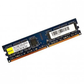 1Go RAM ELIXIR M2Y1G64TU8HB4B-25C 240-Pin DIMM DDR2 PC2-6400U 800Mhz 2Rx8 CL6