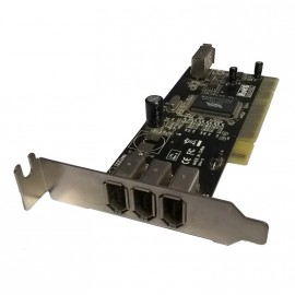 Carte PCI 3+1 Ports Firewire Delock B0011XHLM0 caméra vidéo Hot-Plug Low Profile